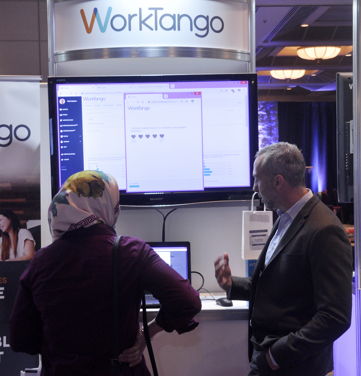 Learning about what Work Tango offers