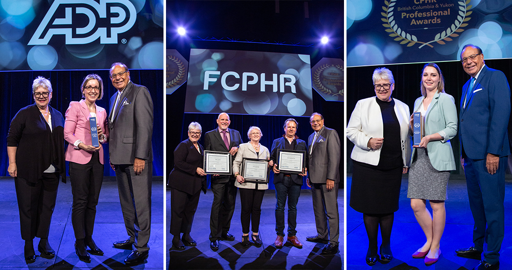 Sheri Hamilton and Miranda Birkbeck Win Awards; CPHR BC & Yukon Recognizes Three Members With FCPHR Title