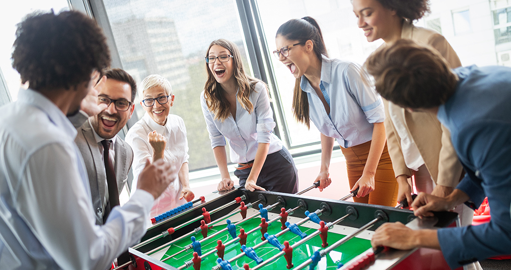 The Profits of Play in the Workplace: A (Fun)damental Change