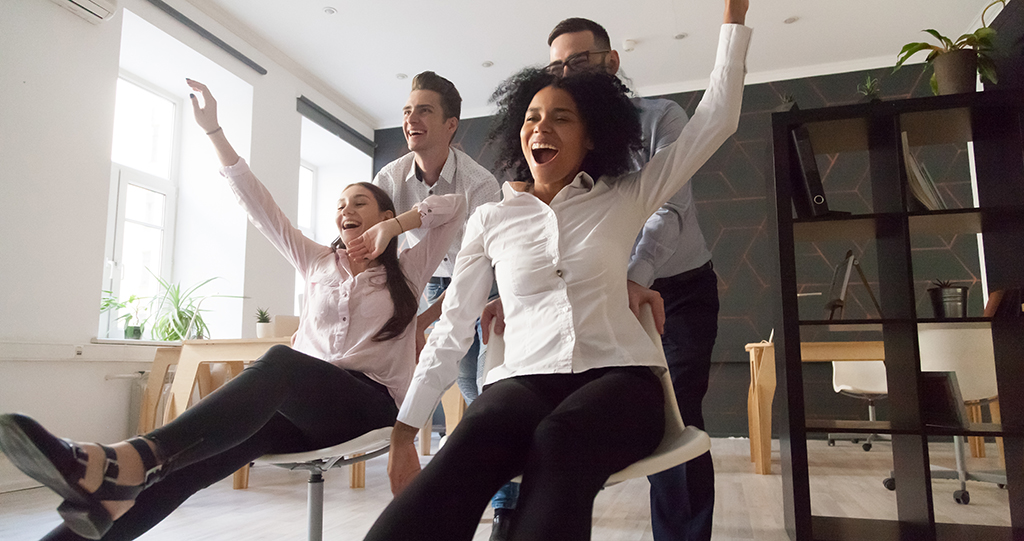 Surpassing the Science of Stress: More Play in the Workplace Lowers Stress
